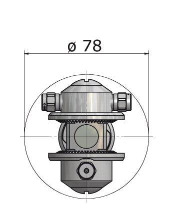 Abmessungen HL RD70