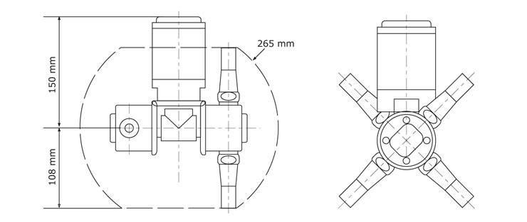 GEA Breconcherry Jumbo 6 Abmessungen