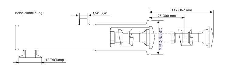 GEA Breconcherry Retraktor MR2 Abmessungen
