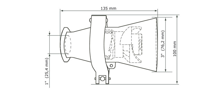 GEA Breconcherry Turbo CW 75 Abmessungen