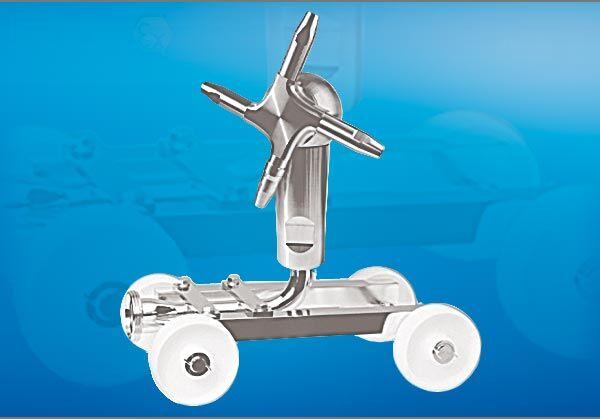 Breconcherry Tankreinigungswagen (praktischer Reinigungswagen zum Einrollen in Tanks)